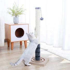 Griffoir pour Chat avec Jouet Suspendu - Pour des Griffes en Pleine Santé