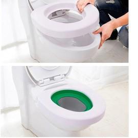 Kit d'Apprentissage de Propreté pour Chat sur Siège de Toilette