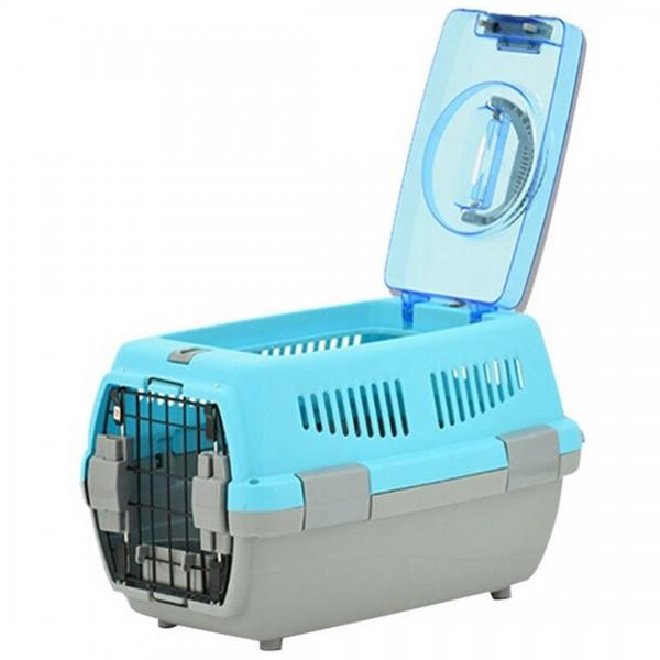 Cage de Transport pour Chat ou Petits Animaux Domestiques