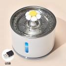 Fontaine pour Chat Automatique avec Filtre à Charbon et Système de Purification à 5 Couches