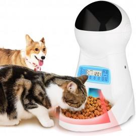 Bol Mangeoir Automatique avec Caméra pour Chien ou Chat Intégrée
