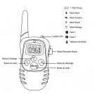 Collier de Dressage pour Chien Rechargeable Vibration - Sonore - Shock - Portée 300M