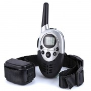 Collier de Dressage Petit et Grand Chien - Portée 1000 Mètres - Rechargeable - Télécommande à Écran LCD